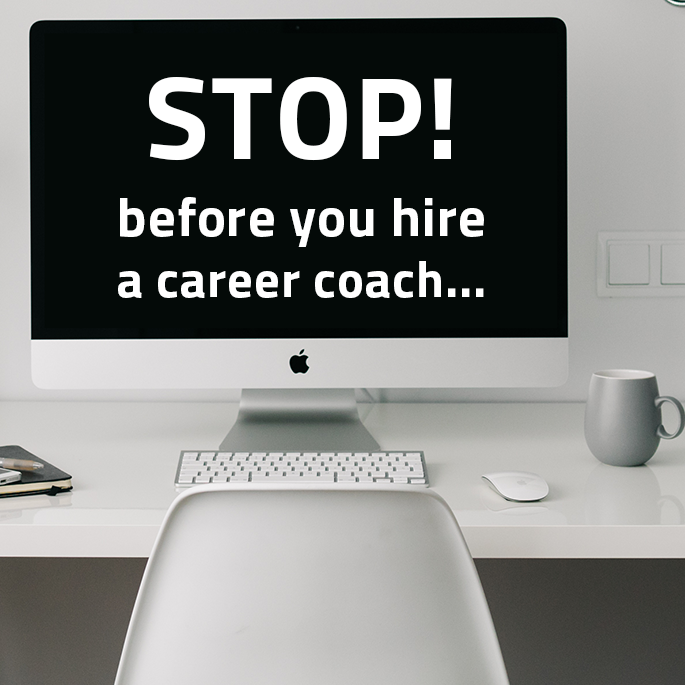 before you hire a career coach