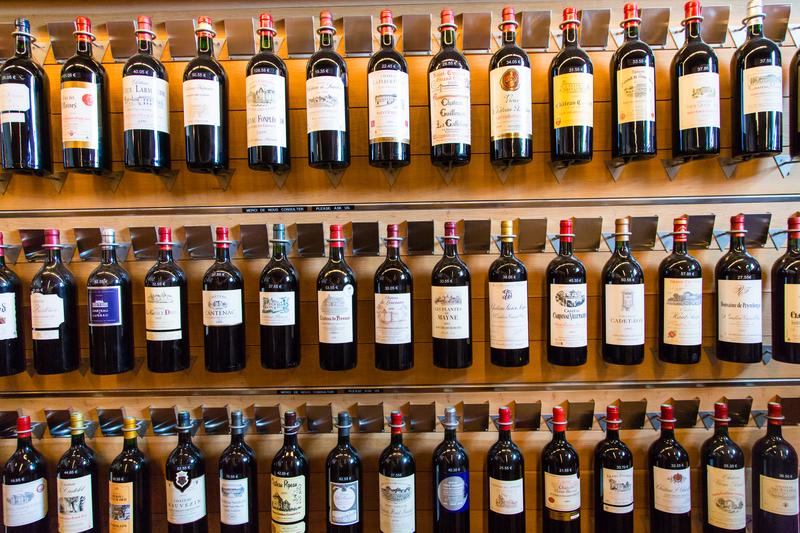 Making a choice - wine
